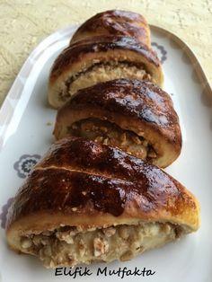 Fındıklı Tarçınlı Çörek   Elifik Mutfakta