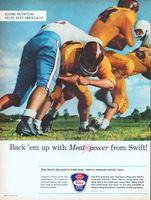 Swift's Premium Proten Beef 1962 Ad Picture