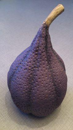 Ceramic fantasy fruit produced in 2014 by Åsa Boström Andréasson, Sweden https://www.pinterest.com/olsa76/made-by-me/