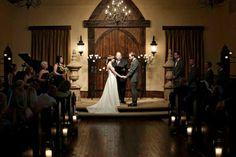 A wedding at Rose Briar wedding venue in Edmond, Oklahoma