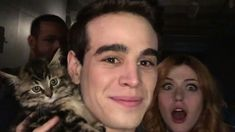 Alberto's Adorable Kitten Visits The Shadowhunters Set! See The BTS Photos Now