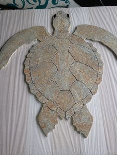 Hawaiian Sea Turtle Tile Mosaic by HiapoMosaics on Etsy, $800.00
