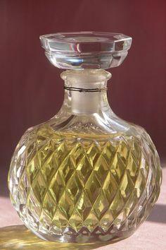 "Lalique Designed Crystal Commercial Perfume Bottle Factice ""Capricci"" Nina Ricci"