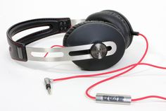 Sennheiser Momentum Headphones - Supple leather and stainless steel pairs with superior sound