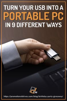 9 Ways To Use A USB Drive As A Portable PC PromotionalDrives is part of information-technology - In this article, we've listed 9 ways you can turn an ordinary USB drive into a portable PC you can take with you anytime and anywhere! Computer Projects, Computer Coding, Computer Build, Computer Programming, Electronics Projects, Electronics Gadgets, Technology Hacks, Cool Technology, Computer Technology