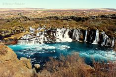 Hraunfossar, Visiting West Iceland