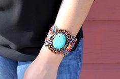 Look At You Girl Seed Bead Bracelet $18.95 www.ruralhaze.com