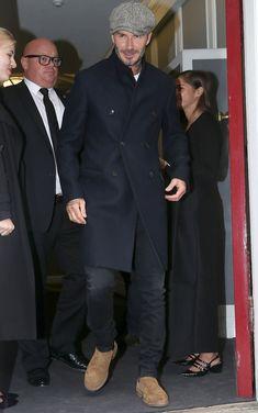 Traje David Beckham, Moda David Beckham, David Beckham Suit, David Beckham Style, David Beckham Jeans, David Beckham Fashion, Mens Style Looks, Men's Style, Beckham Hair