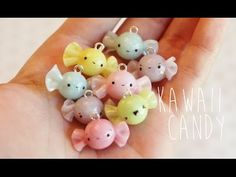 Kawaii Hard Candy Charm Polymer Clay Tutorial