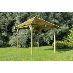 Looking for a top quality covered pergola? See who sells the best covered pergola in the UK. WhatShed reveal the best covered pergola available online today Garden Pavilion, Outdoor Pavilion, Garden Gazebo, Outdoor Dining, Garden Planters, Garden Trellis Panels, Garden Structures, Outdoor Structures, Garden Furniture Sale