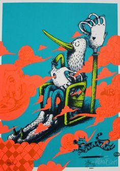 Air cello Alexone. #alexonedizav http://www.widewalls.ch/artist/alexone-dizac/