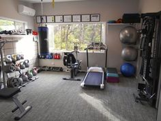 New Home Gym organization