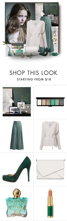 """""""Romantic Spring"""" by barbara-gennari ❤ liked on Polyvore featuring John Lewis, Sea, New York, Rachel Comey, Christian Louboutin, Kendall + Kylie, Anna Sui and Balmain"""
