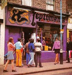 Kleptomania boutique, Carnaby Street, London 1966