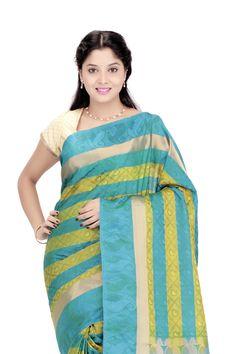 Beautiful & Stunning #Kanjivaram Silk Sari #WomensFashion Sari Silk, Womens Fashion Online, Sarees