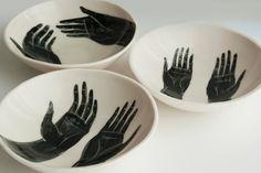 Grasp (Porcelain Bowls) set of 3 (Bryce Wymer)