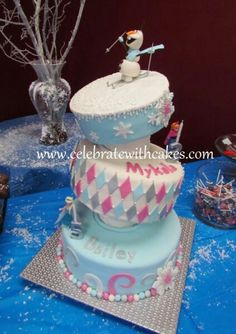 Frozen party cake
