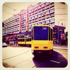 Tram at Alexanderplatz