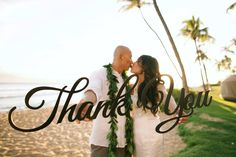 Thank You wedding signs - Anna Kim Photography