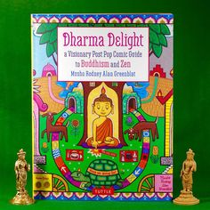 Dharma Delight: A Visionary Post Pop Guide to Buddhism and Zen by Rodney Alan Greenblat Tuttle Publishing 2016, 128 pages, 7.5 x 10 x zero.5 inches (softcover) $11 Buy a replica on Amazon Peace of thoughts generally is a hard-won trophy in one of the best of instances. Other instances, properly, merely being could also […]