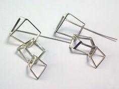 """Context  Galeria - Oscar Abba - arracades / pendientes / earrings """"boucles 022"""""""