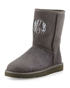 Personalized UGGS - these would make a GREAT gift!