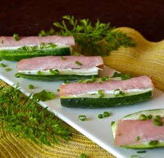 Lea's Cooking: Delicious Cucumber Subs