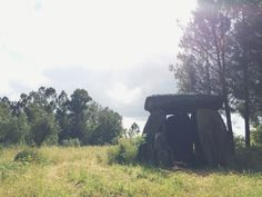 Dolmen de Cavada, they say it is a grave, or properly said Burial Chamber, which is about 6000 years old and is composed of 9 upright stones, covered by a huge slab.