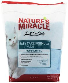Nature's Miracle Just for Cats Easy Care Crystal Litter, 8-Pound -- Want additional info? Click on the image. (This is an affiliate link and I receive a commission for the sales) #MyPet