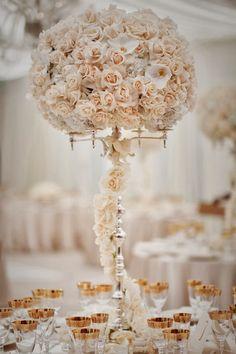 12 Stunning Wedding Centerpieces - Part 20 | bellethemagazine.com