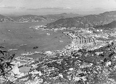Looking towards Happy Valley and Causeway Bay in 1949