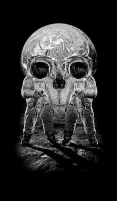 Everyone loves skull illusions! Check out our large collection of different optical illusions Memento Mori, Creepy, Street Art, Totenkopf Tattoos, 3d Art, Arte Obscura, Illusion Art, Skull And Bones, Skull Art