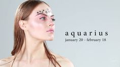 Astrology-Inspired Makeup - via BuzzFeedYellow YouTube channel || Aquarius ♒