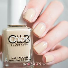 Color Club Natures Way  Available at http://livelovepolish.com!  #colorclub #naturesway #nude #nudepolish #nailswatch #vernis #lacquer #npa #manicure #classic #neutral