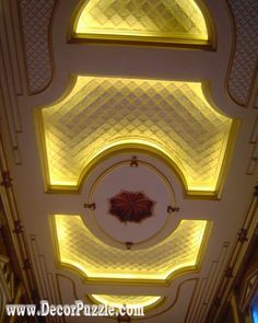 latest pop false ceiling design catalogue for luxury interior with led lights