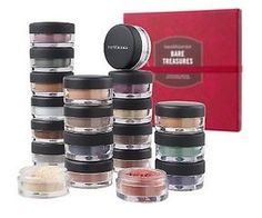 Bare Minerals Loose Eyeshadow Round-Up Bare Minerals Eyeshadow, Gel Eyeshadow, Mineral Eyeshadow, Eyeshadow Palette, Sfx Makeup, Beauty Makeup, Bare Essentials Makeup, I Love Makeup, Awesome Makeup
