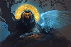 sphinx by GaudiBuendia.deviantart.com on @DeviantArt