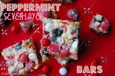 peppermint 7 layer bars