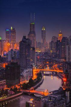 Suzhou Creek, Shanghai | China (by Wolfgang Staudt)