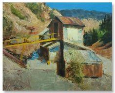 "Robert Spooner | ""Untitled II"" I Oil, 24 x 30"""