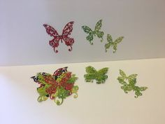 5 pieces butterfly x 5 cm 3 pieces Large 20 x cm Medium x 9 cm Small 7 x cm colors and textures will be variable. Could be in color foam. Selling On Pinterest, Craft Supplies, Greeting Cards, Diy Projects, Butterfly, Texture, Etsy, Crafts, Craft Ideas