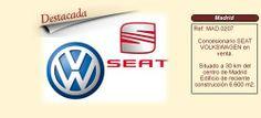 MAD207 Madrid  Concesionario SEAT VOLKSWAGEN en venta http://www.lancoisdoval.es/empresas-en-venta.html