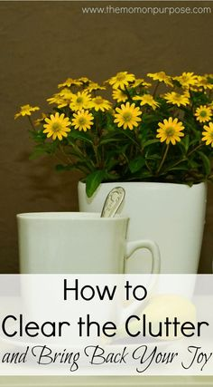 Are you overwhelmed by all of the stuff in your home? Find out how to clear the clutter and bring back your joy today!