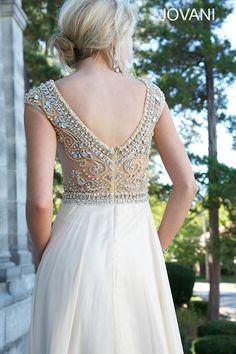 Cap sleeve Jovani long dress