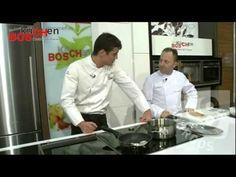 """Miguel Cobo cocinando en BOSküCHen en nuestro espacio televisivo """"Más Cocina"""""""