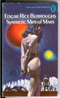 SYNTHETIC-MEN-OF-MARS-by-Burroughs-rare-British-NEL-sci-fi-gga-pulp-vintage-pb In Stock Now!  http://www.biblio.com/bookstore/harris-used-books-raleigh/new-arrivals