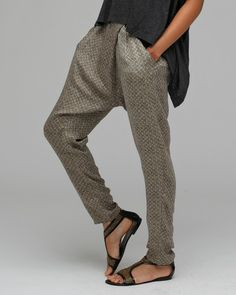 Slouchy Pants Look So Comfy