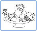 Kolorowanki Owoce Picture
