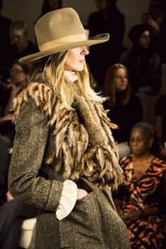 Ralph Lauren Fall 2015 collection show at New York Fashion Week Like no other...he is the best