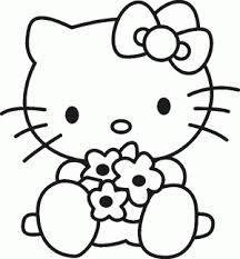 Resultat Dimatges De Dibujos Para Colorear La Hello Kitty